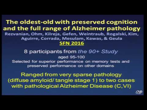 Cognitive Aging Summit III | Dr. Claudia Kawas | Cognitive and Brain Resilience..