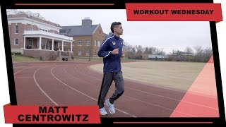 Olympic Champion Matthew Centrowitz Workout Wednesday