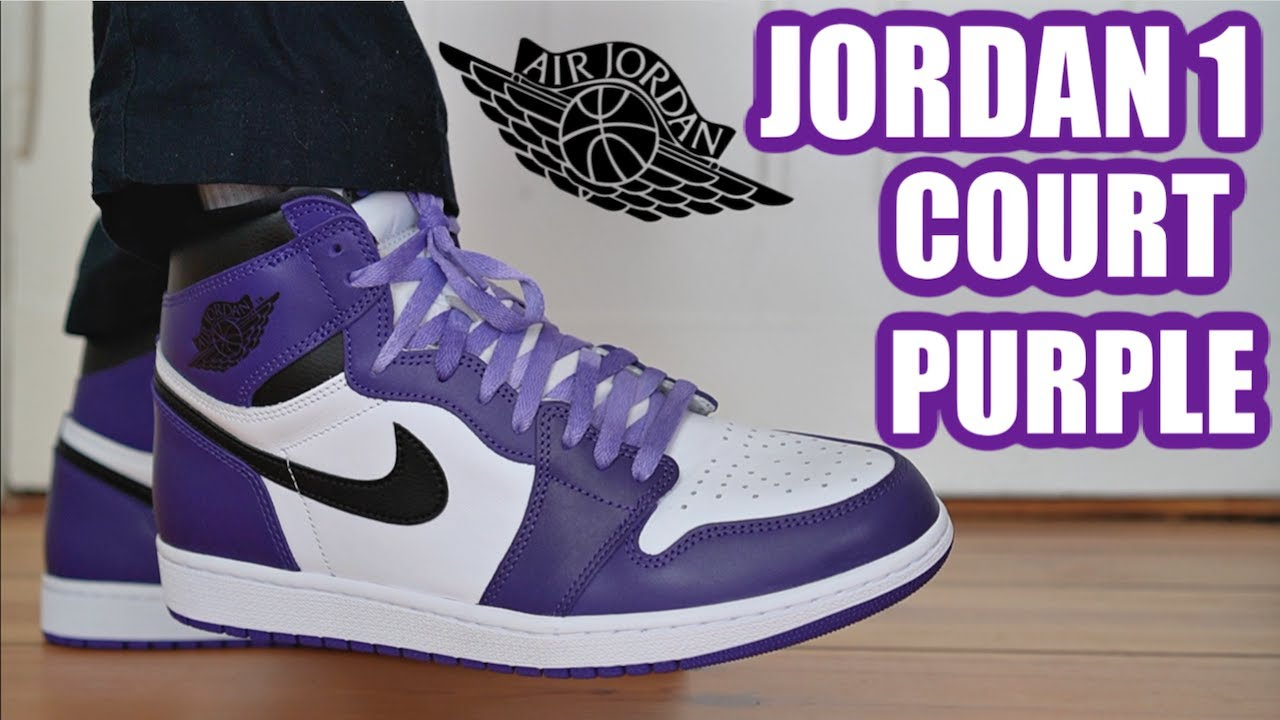 air jordan 1 court purple 2020 resell