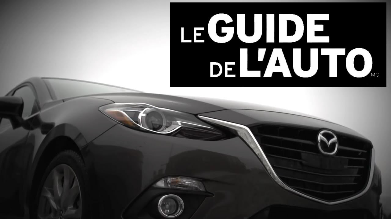 mazda3 2014 le guide de l 39 auto comparaison des voitures compactes longueuil mazda youtube. Black Bedroom Furniture Sets. Home Design Ideas