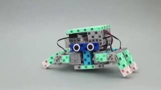 Programmer de manière élaborée - Le robot araignée qui danse