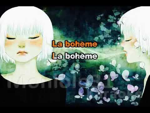 Cover - Garou - la bohème (live)