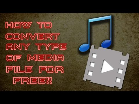 How To Convert Any Type Of Media File Into OGG, WMV, WAV Or MP3 For Free!!