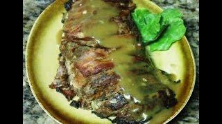 Receta De Meatloaf Con Tocineta (latino)
