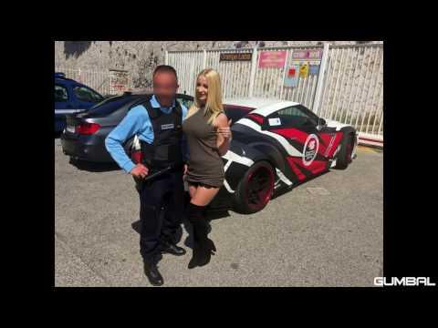 PORNSTAR Mia Khalifa And Jonny  driving her Prior Design GT R PD750 Widebody