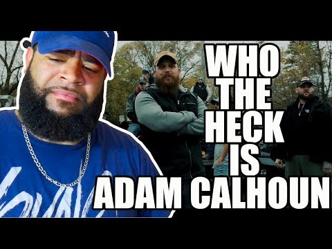 {{ REACTION }} Adam Calhoun  Racism   (Official Music Video) - Who the f**k does he think he is!!!