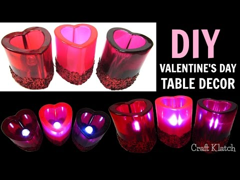 Resin Valentine's Day Table Decor | DIY Projects | Craft Klatch | How To