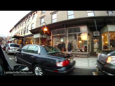 Lambertville NJ  - Around Town Video Footage