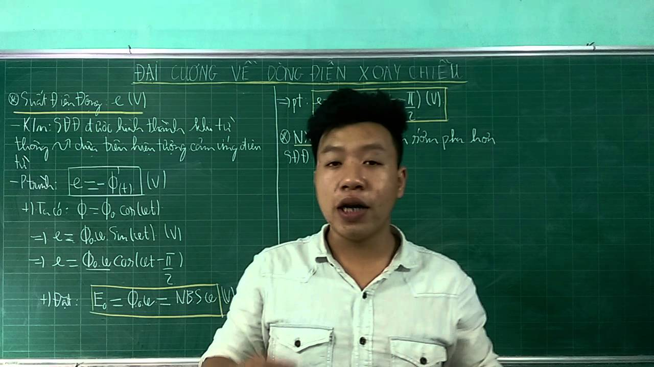 Bài 1.7 : Đại Cương Về Điện Xoay Chiều