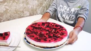 Творожный торт без выпечки! Приготовит даже ребенок!