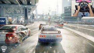 GRID 2019 - Nissan Skyline R32 GTR Group A | Logitech g29 gameplay Video