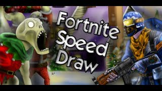 Speed-Draw: Fortnite (Survive the holidays)