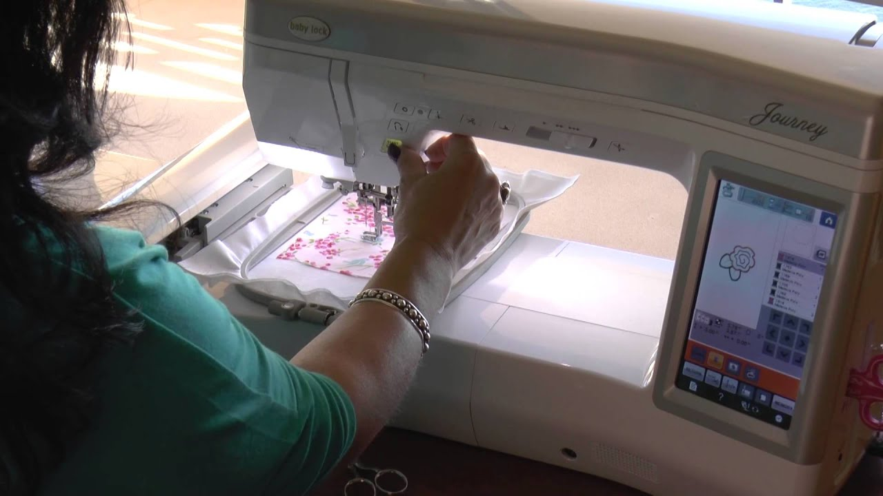 The applique tutorial applique on your embroidery machine