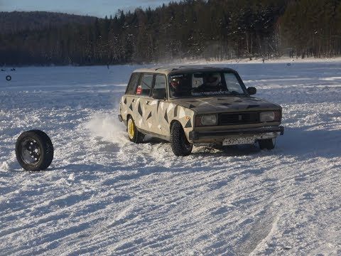 Первый этап ледовых гонок в г.Бакале. 3 января 2019