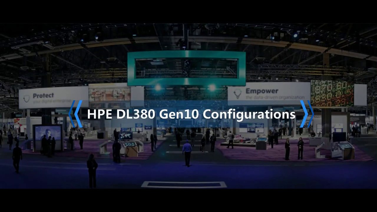 Configure & Buy HPE DL380 Gen10 Servers