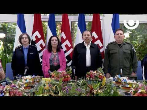 Mensaje del Presidente Comandante Daniel Ortega al pueblo de Nicaragua