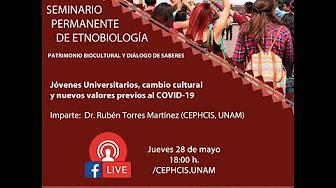 Jóvenes Universitarios, cambio cultural y nuevos valores previos al COVID-19 [446]