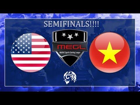 USA vs VIETNAM SEMIFINALS CR WORLDS CLASH ROYALE $5000 PRIZE POOL