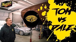 How low will Dale's Mercedes go?! *TOM vs DALE The Ultimate Car Build Off - Dale Episode 16