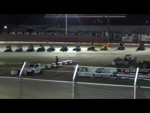 Delta Speedway Turkey Bowl Jr. Sprint Main Event