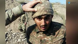 Azərbaycan ordusu düşmənin daha bir hərbçisini əsir götürdü