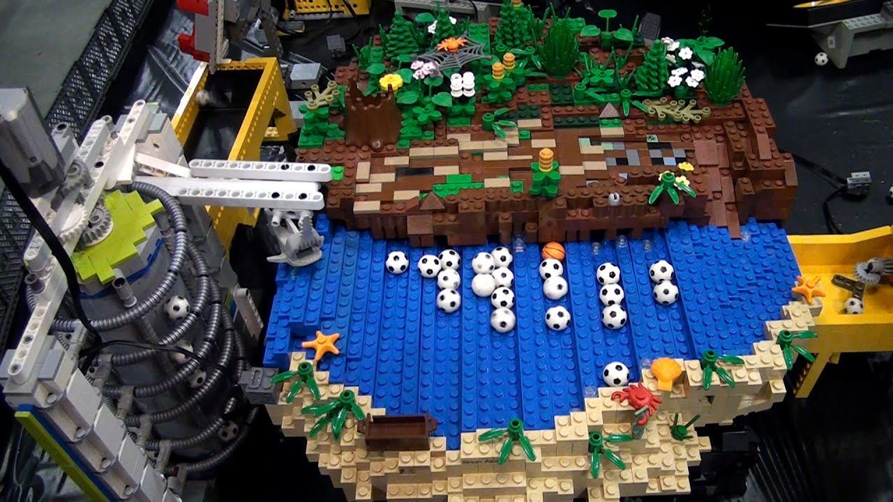 Worksheet Rube Goldberg Videos worlds longest lego great ball contraption rube goldberg brickworld chicago 2015 youtube