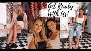 GET READY WITH US!!! NIGHT OUT TRANSFORMATION FT EMILY PHILPOTT!