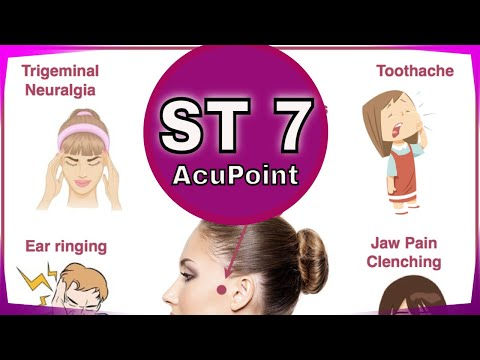ST 7 Acupuncture Point - YouTube