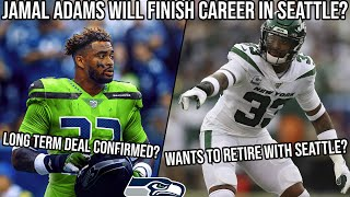 JAMAL ADAMS Wants to Finish his Career in Seattle? - Seahawks Fan Reacts to Trade Press Conference