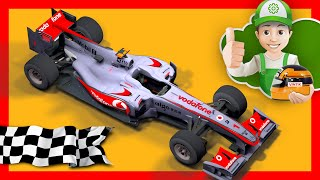 Мультик про машинки  Гонки на машинах  Винтик участвует в гонках