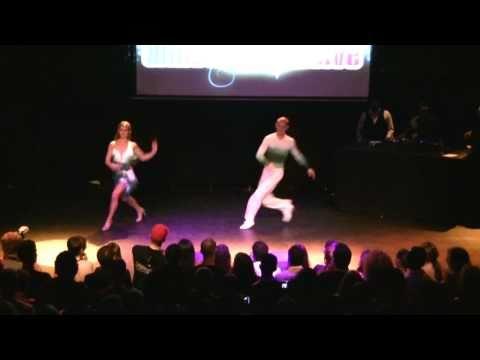 Extremos Salsa 10 Yr Anniversary - Performance By Anderson & Vanessa (Brazil)
