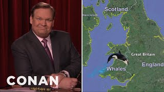 Andy Richter Explains Brexit  - CONAN on TBS