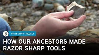 Making Stone Tools | Big History Project