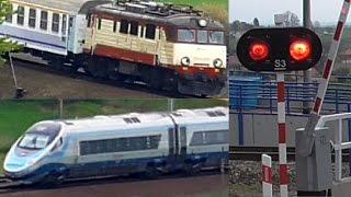 4 Pociągi - Budyń, Pendolino, Ep09, Eu07 Na Łukach W Goszczy + 3xrp1