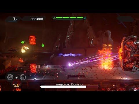 Matterfall (PS4) Gameplay (Freelance Difficulty) - Level 3: Matter Mines - Final Boss & Ending
