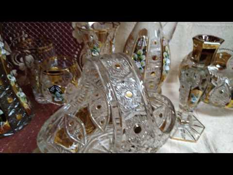 Aleks-Crystal.com - Bohemia Crystal 24% Pbo Gold And Smalt!