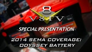 Inside Odyssey Batteries: SEMA 2014 V8TV Video Coverage