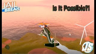 Is It Possible To Glide To The Top Of A Helicopter While Its In Motion?! / Roblox Jailbreak