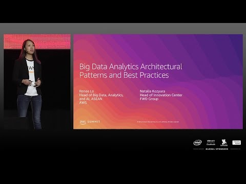 AWS Summit Singapore 2019 | Big Data Analytics Architectural Patterns And Best Practices