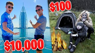 $10,000 vs $100 HOLIDAY FAMILY CHALLENGE
