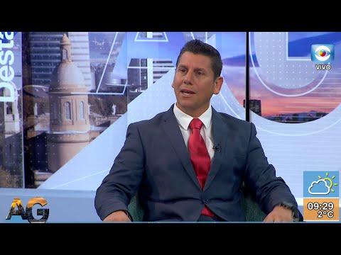 Mauricio González candidato por el PC a la Intendencia de Rivera