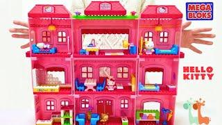 ハローキティ メガブロック 大きなホテル / Hello Kitty Grand Hotel Play Set Mega Bloks thumbnail