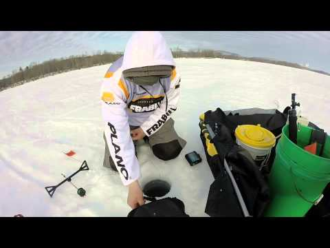 ice fishing lake champlain