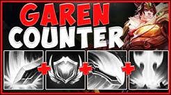 THE MOST UNFAIR WAY TO COUNTER NEW GAREN! NEW GAREN COUNTER S9 TOP GAMEPLAY! - League of Legends