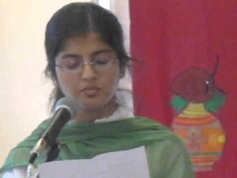 Oi Bhubono Mono Mohini - Roshni Singing at Indian Independence Day Celebration
