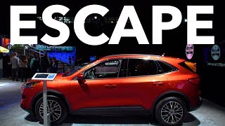 2019 New York Auto Show: 2020 Ford Escape | Consumer Reports