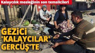 İstanbullu Kalaycı Ustaları, Çıktıkları Şehir Turunun Son Durağında Batman'a Geldi