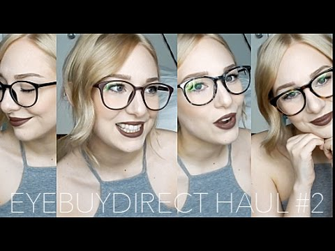01b2e40a4401 GLASSES HAUL #2 | EYEBUYDIRECT | glasses for small faces - YouTube