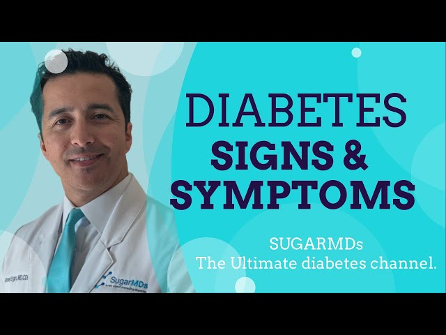 Diabetic Signs and Symptoms Everybody Should Know!! SugarMD