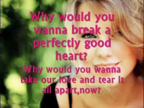 Perfectly Good Heart Lyrics